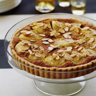 Food & Wine: Pear and Almond Cream Tart