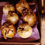 Food & Wine: Apples Baked in Pastry with Plum Sauce