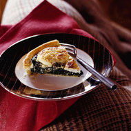 Food & Wine: Spinach and Goat Cheese Quiche