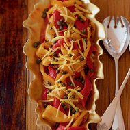 Food & Wine: Roasted Peppers with Preserved Lemon and Capers