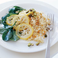 Food & Wine: Couscous with Red Lentils and Easy Preserved Lemons