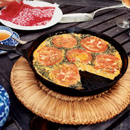 Food & Wine: Herb and Onion Frittata