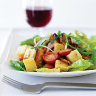 Food & Wine: Potato Salad with Bacon and Tomatoes
