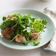 Food & Wine: Asian Watercress Salad with Salmon