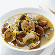 Food & Wine: Clams with Spicy Sausage