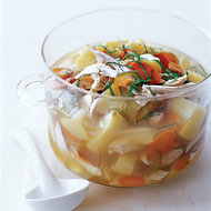 Food & Wine: Chicken and Potato Soup with Lemongrass