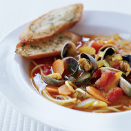 Food & Wine: Fresh Clam and Noodle Soup