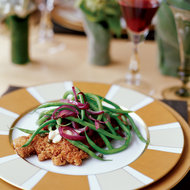 Food & Wine: Green Beans with Onions and Capers