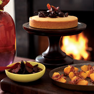 Food & Wine: Roasted Persimmons Wrapped in Pancetta