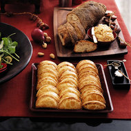 Food & Wine: Roasted Winter Squash and Onion Turnovers