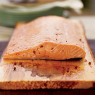 Food & Wine: BBQ Planked Salmon
