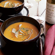Food & Wine: Butternut Squash Soup with Coconut and Ginger
