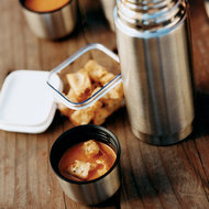 Food & Wine: Tangy Tomato Soup With Tarragon Croutons