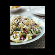Food & Wine: Crunchy Winter Vegetable Salad with Olives and Capers