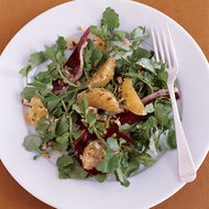 Food & Wine: Watercress Salad with Prosciutto, Tangerines and Hazelnuts
