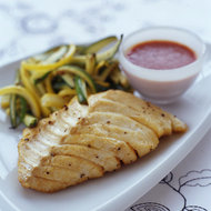 Food & Wine: Seared Cod with Chile Sauce