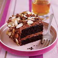 Food & Wine: Toffee Almond Crunch Cake