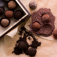 Food & Wine: Bittersweet Chocolate Truffles Rolled in Spices