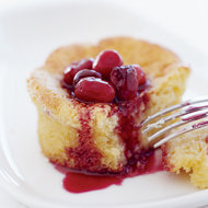 Food & Wine: Corn Cakes and Spiced Cranberries