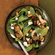 Food & Wine: Arugula Salad with Grilled Mushrooms and Goat Cheese