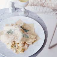 Food & Wine: Cauliflower and Crab Ravioli