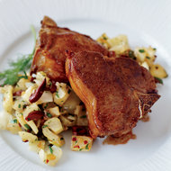 Food & Wine: Lamb Chops with Fennel Relish