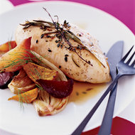 Food & Wine: Chicken Breasts with Rosemary and Thyme