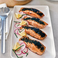 Food & Wine: Chive Salmon with Remoulade