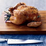 Food & Wine: Roasted Chicken with Herb Jus