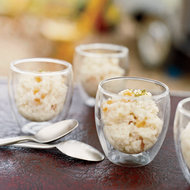 Food & Wine: Rice Pudding with Dried Apricots