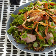 Food & Wine: Duck Breast, Lentil and Parsnip Salad