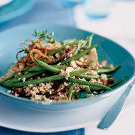 Food & Wine: Farro and Green Bean Salad