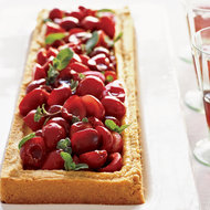 Food & Wine: Cherry-Mascarpone Cheese Tart