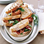 Food & Wine: Grilled Salmon Sandwiches