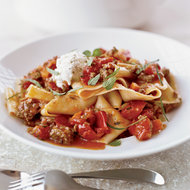 Food & Wine: Pappardelle with Lamb Ragu