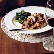 Food & Wine: Broccoli Rabe with Garlic and Red Pepper
