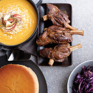 Food & Wine: Butternut Squash Soup with Apple and Smoked Cheddar
