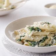 Food & Wine: Spinach and Ricotta Pappardelle
