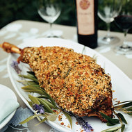 Food & Wine: Herb-Crusted Leg of Lamb