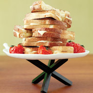 Food & Wine: Three-Cheese Grilled Cheese Sandwiches