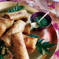 Food & Wine: Mint-and-Date Dipping Sauce
