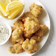 Food & Wine: Scallop Fritters