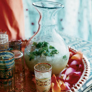 Food & Wine: Sweet Lime-Ginger Rum Punch