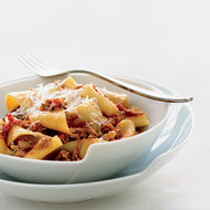 Food & Wine: Pappardelle with Milk-Roasted Baby Goat Ragù