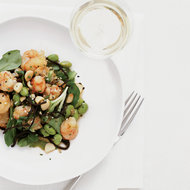 Food & Wine: Rock Shrimp Poke with Ginger, Soy Sauce and Hijiki