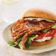 Food & Wine: Soft-Shell Crab Sandwiches with Pancetta and Remoulade