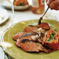 Food & Wine: Grilled Steaks with Sweet-Spicy Hoisin Sauce