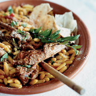 Food & Wine: Lamb Chops and Ragù with Malloreddus