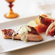 Food & Wine: Marinated Fish with Salmoriglio Sauce