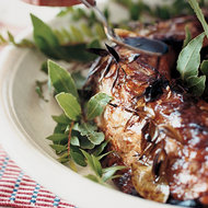 Food & Wine: Roast Pork Loin with Saba